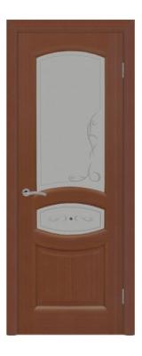 Распродажа двери Топаз Темный орех Шпон 900