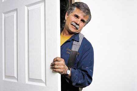 Устанавливаем двери